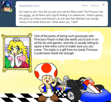 Ask Toad - Kart? by pocket-arsenal