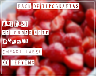 Tipos De Tipografias by BlessedParadise