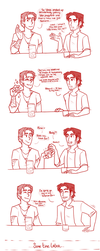 Disaster Dads| Party Potions by RomyvdHel-Art
