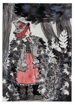 Inktober 2017 - Forest Witch by Lisk-Art