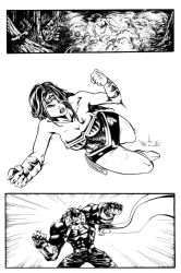 Wonder Woman pg 2 by mikemorrocco