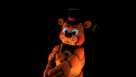 (SFM/FNaF)Toy freddy is waiting by TheDoubleAxe