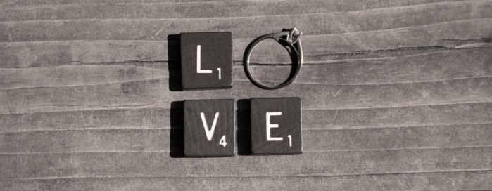 Engagement Ring Scrabble (Love) by pbjohn