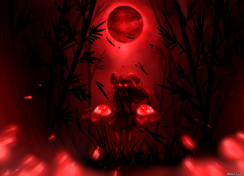 Red Moon by amn3siia