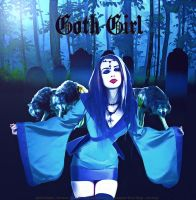 Goth Girl by Indeedee-Graphics