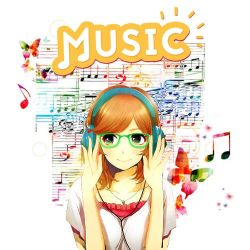 Profile picture - Music Anime girl by Jacks-Gaming-Room