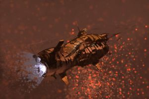 SPINNIN170: Tiger Probe Caravel by Hamsta180