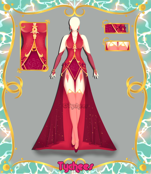 Outfit Adoptable (Auction) #41 CLOSE!!! by Tychees