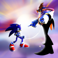 Sonic and Eggman by HgGh7