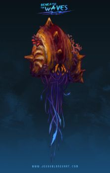 Hermit Crab - Beneath the waves by ChuchuaN