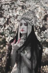 Mistress of the Cherry Orchard IV by MariaPetrova