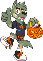 Halloween Max by Goronic