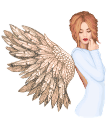 the Angel by MsMellaa