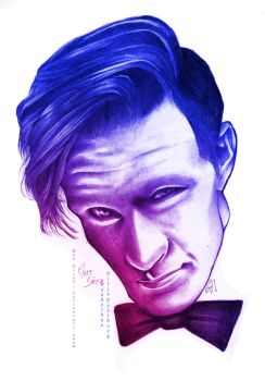 Doctor Who by SiljaVich