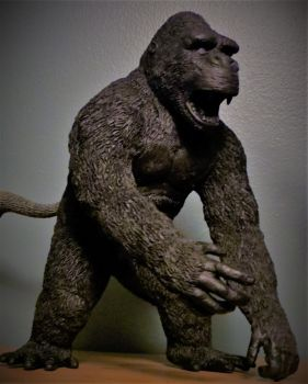Mark Yang Custom Kong Sculpture 3 by Legrandzilla