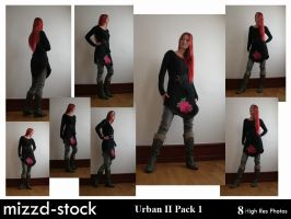 Urban Series II Pack 1 by mizzd-stock