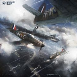 Side by side with the British Sky Defenders by VitoSs