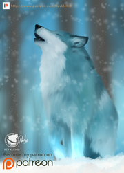 ICE WOLF by klehid