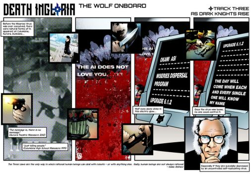 The Wolf Onboard p3 by handtoeye