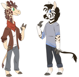 Harry Pace and Nathan Pace (Solver Squad) by Frozen-Yeti