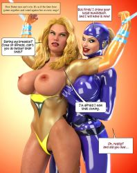 Butterscotch Breasts Bared by greent64