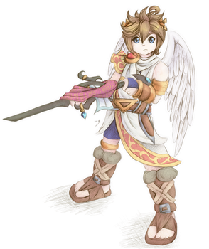 Kid Icarus Favourites By Angel Of Light Kelly On DeviantArt