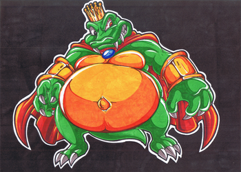 Donkey Kong Country. King K Rool. by Virus-20
