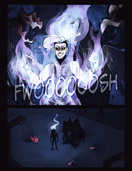 P-NO: Light in the Dark PG3 by RosariaBec