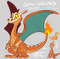 charizard character adopt - CLOSED by MrsDrPepper