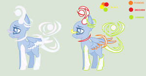 MLP Galaxias Pony Original Species (CLOSEUPDATING) by HuiRou