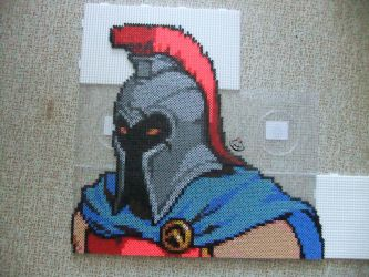 I always wanted to be a baker.... Perler Beads by Cimenord