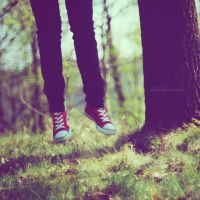 red shoes. by lifelikesuicide
