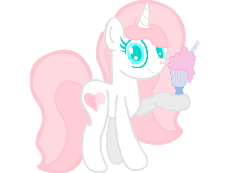 Cotton Candy Milkshake by ASCToons