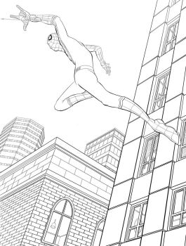 Spider-man Homecoming by Mike-Bunt