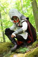 AC II: Ezio Auditore da Firenze (Shoot #2) #4 by AilesNoir