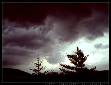 .clouds in bad mood by Within-AbstrAction