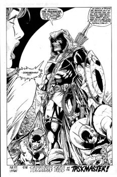 Taskmaster commission - Ink by i3i11theWi11