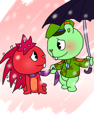 Happy Tree Friends: Let It Snow by ArtsyGumi