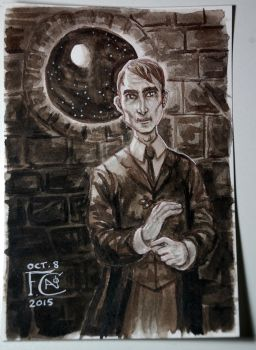 Professor Lupin Painting by feliciacano