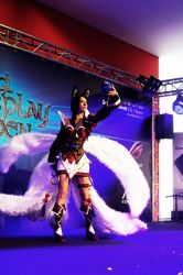 New Dawn Ahri Cosplay - the grand finale XD by Isavien