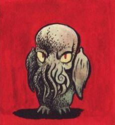 Baby Cthulhu by kvh