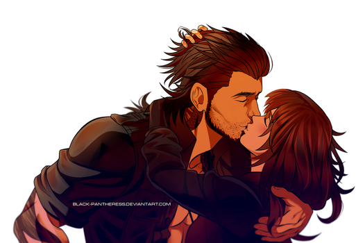 PP Commission : Amarylis and Gladio by Black-pantheress