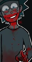 Bloody-Rick doodle by small-yeast-dumpling