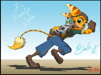 Ratchet and Clank - SAVE IT by Cacio044