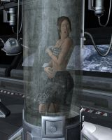 Alien Abduction: Cryo-Tube by Hannoceltain