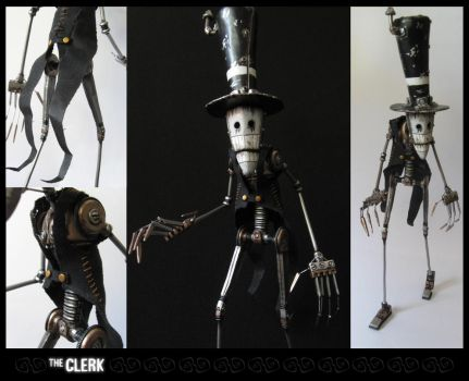 The Clerk by MorffinCreations