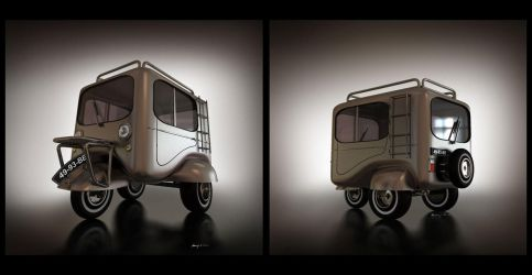 microcar 3D by hugosilva