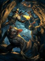 South American Vampire Hunters by wraithdt