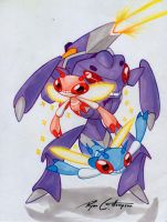 Genesect and Primesect