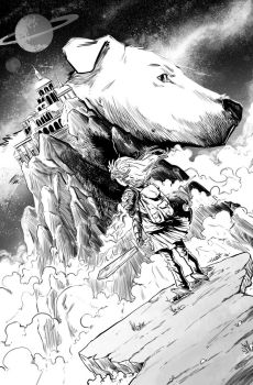 Fetch Cover Inks Hobz by hobzart